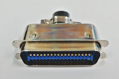 36 Pin Centronics Male Cable Mount Connector 57-30360 - MarVac Electronics