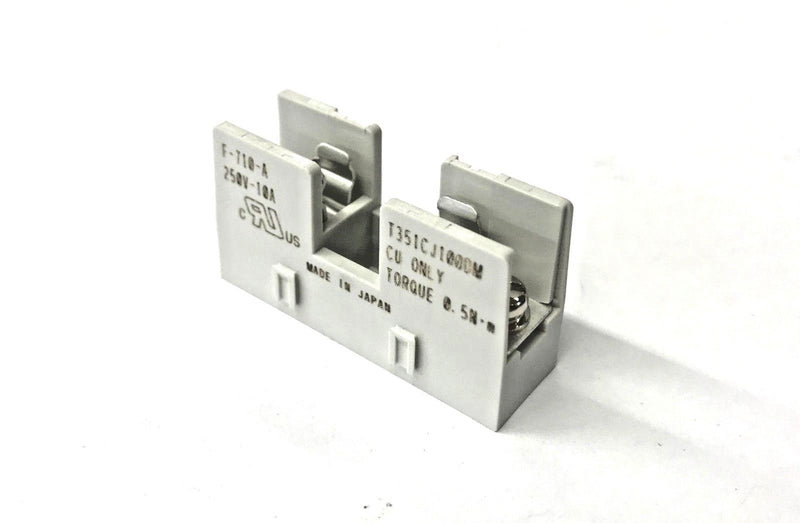 Sato Parts F-710-A Metric (5x20mm) Fuse Holder, Surface Mount