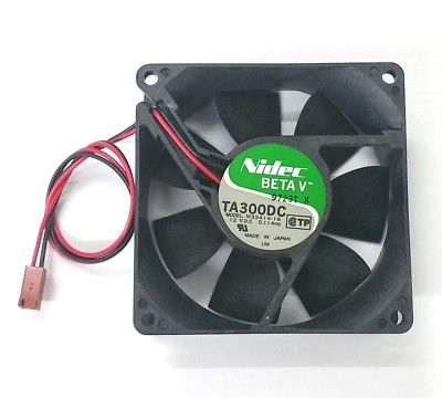 Nidec Beta V TA300DC (M33414-16) 80mm x 80mm x 25mm 12V DC Cooling Fan