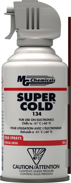 MG Chemicals # 403A-285G 134 Plus 10oz (Aero) Super Cold Spray