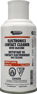 Electronics Contact Cleaner with Silicone 140G 5oz (Aero) 404B-140G