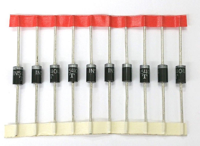 Lot of 10 1N5404 3 Amp 400 Volt Rectifier Diodes 3A 400V
