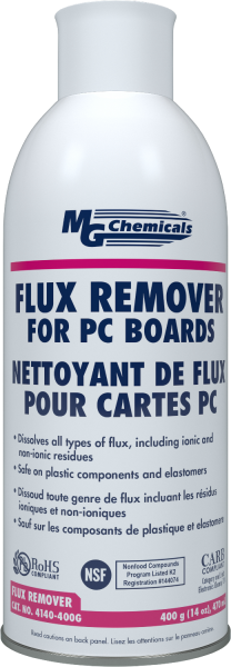 MG Chemicals # 4140-400G 15.3oz ( Aero) Flux Remover - Plastic Safe