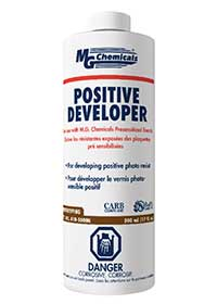 MG Chemicals # 418-500mL Positive Photo Resist Developer 17oz (Liquid)