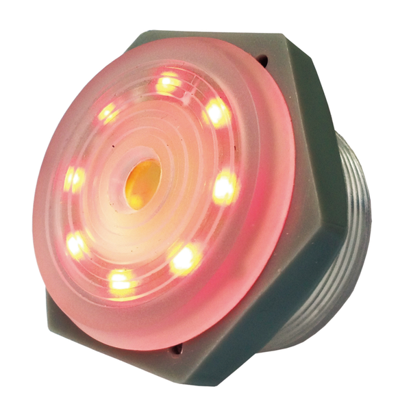 Philmore 44-1204 3-15V DC RED LED Lighted, Intermittent Piezo Sounder ~ 95dB