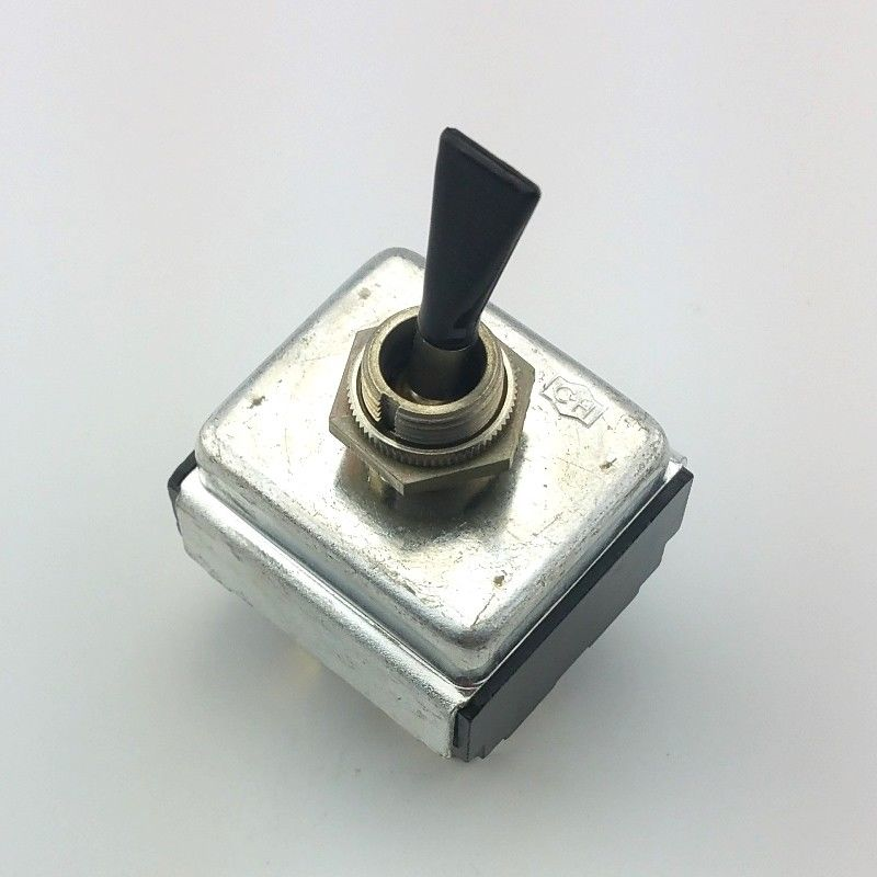 Eaton Cutler Hammer 3PST ON-OFF Flat Bat Toggle Switch 15A 125VAC, 10A 250VAC