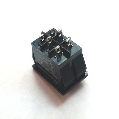 DPDT ON-ON Miniature Rocker Switch Carling Switch Model