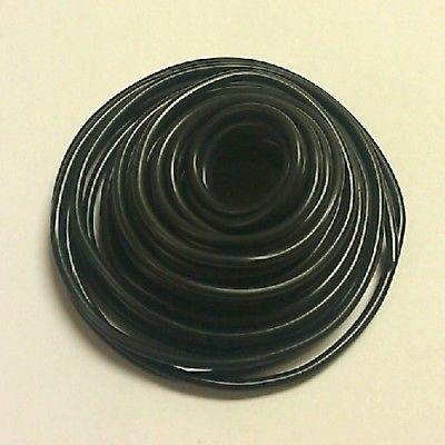 30' Length 16 Gauge 16AWG BLACK GPT PVC Stranded 50V Automotive Hook Up Wire