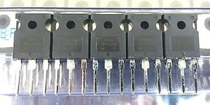 Lot of 5 International Rectifier IRFP460 20 Amp 20A 500 Volt Power Mosfets - MarVac Electronics