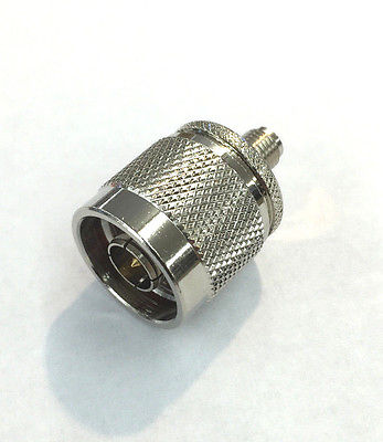 R.P. SMA Female To N Male Adapter RFA-8862 - MarVac Electronics