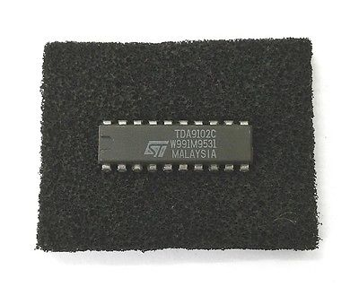 ST Microelectronics TDA9102C CRT Horizontal & Vertical Sync Processor IC - MarVac Electronics