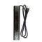 PS106s BK 6 OUTLET 4 FT SLIM BLACK POWER STRIP WITH SURGE PROTECTION, 2 USB CHARGING PORTS