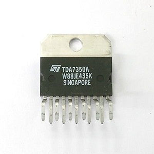 ST Microelectronics TDA7350A 22W Bridge Stereo Amplifier IC ~ 11 Pin SIP - MarVac Electronics