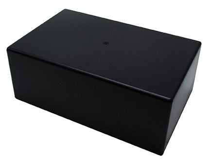 "Large ABS Plastic Utility Chassis Box, 8.54"" x 5.43"" x 3.23"" 64-1039B"