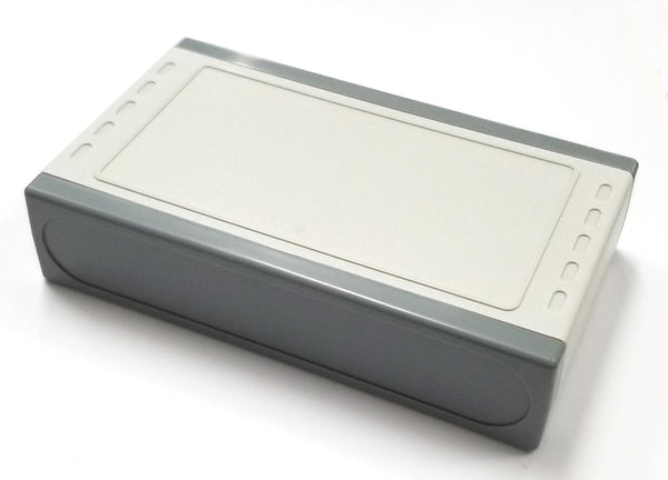 "Medium ABS Plastic Snap-In Desktop Chassis Box, 6.1"" x 3.62"" x 1.16"" 64-G1816"