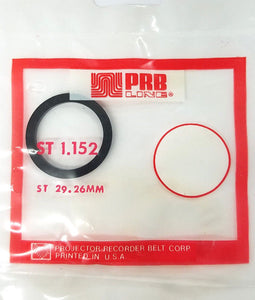 PRB ST1.152 Video Clutch or Idler Tire ~ ST29.26mm - MarVac Electronics