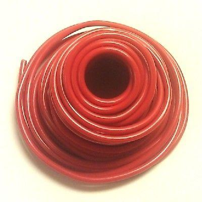 10' Length 10 Gauge 10AWG RED GPT PVC Stranded 50V Automotive Hook Up Wire