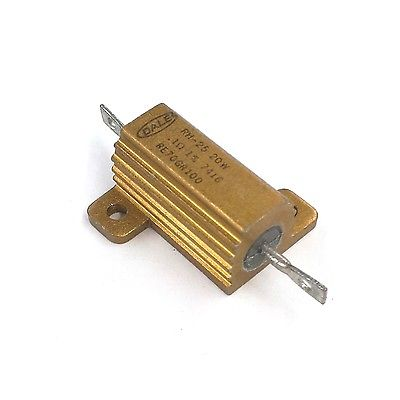 Dale RE70GR100 0.10 Ohm 1% 20 Watt Metal Power Resistor 20W MIL-PRF-18546 - MarVac Electronics
