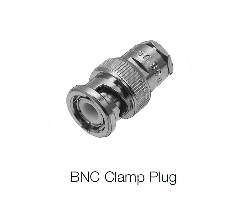 Amphenol 31-202 UG-88C/U Male BNC Connector Clamp Plug for RG55 & RG58