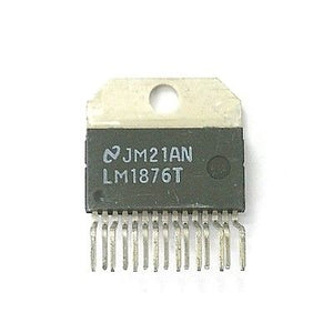 Original National LM1876T Dual 20W Audio Amplifier IC 15 Pin LM1876 - MarVac Electronics