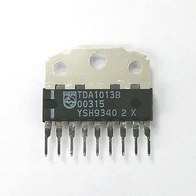 Original Philips TDA1013B 4W Audio Power Amp IC ~ NTE 1852 ECG 1852 - MarVac Electronics