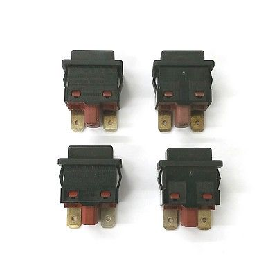 Lot of 4 Dreefs / Kautt & Bux TL323A3 SPST ON-OFF Push Button Switches - MarVac Electronics