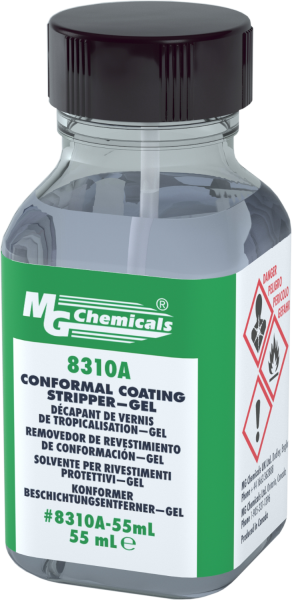 Conformal Coating Stripper with Brush Cap 55ML 1.86 fl oz 8310A-55ML