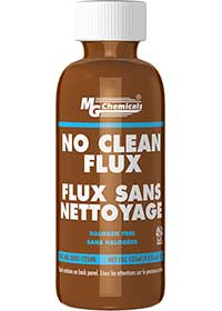 MG Chemicals 8351-125mL, 125 mL (4.22 oz.) Bottle of No Clean Halogen Free Organic Flux