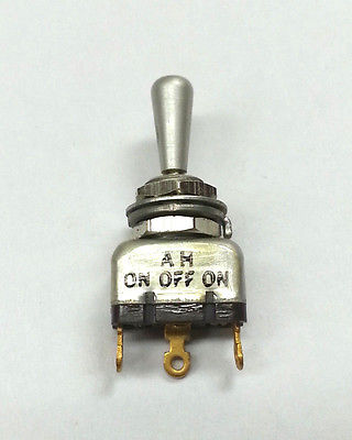 MS75028-21 AH TC-3-M SPDT ON-OFF-ON Mini Toggle Switch ~ Mil-Spec N.O.S. - MarVac Electronics