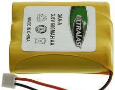 3.6V 600MaH NiCad Battery 3AA-A