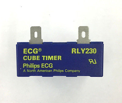 ECG RLY230 Binary Digital Cube Timer Delay On Operate 95-145 VAC Solid State - MarVac Electronics