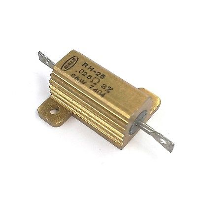 Dale RH25R025H 0.025 Ohm 3% 25 Watt Metal Power Resistor 25W - MarVac Electronics