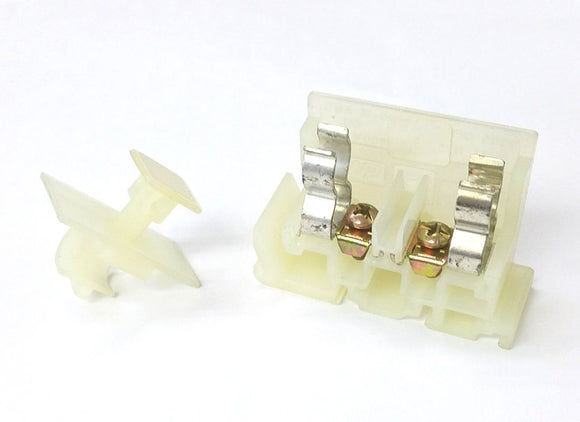 Square D 9080GF6 DIN Rail Mount Fuse Folder for 13/32