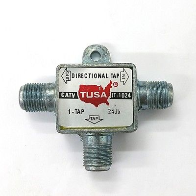 Tusa IT-1024 24dB Single TV Line Drop Tap - MarVac Electronics