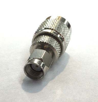 R.P. SMA Male To R.P. TNC Male Adapter RFA-8894 - MarVac Electronics
