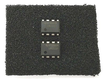 Lot of 2 TI Texas Instruments LM311P LM311 Differential Comparator DIP ICs - MarVac Electronics