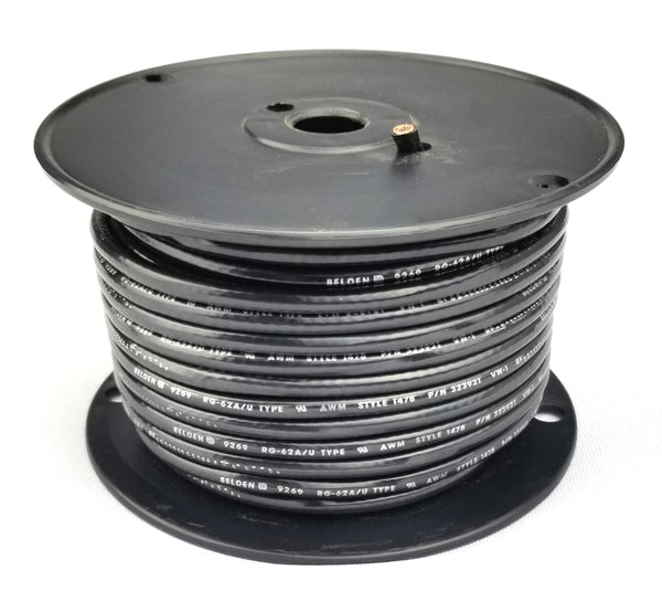 100' Spool Belden 9269 RG62A/U 93 Ohm Coax Cable ~ Arcnet 100 Foot