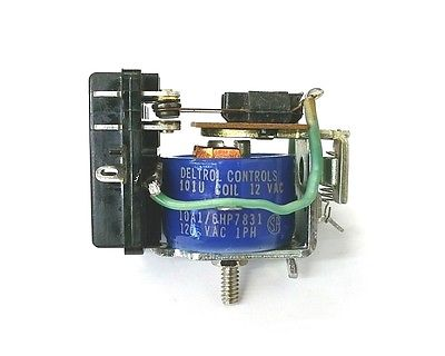 Deltrol 20064-81 12 Volt AC Coil 10 Amp 101U DPDT General Purpose Relay - MarVac Electronics