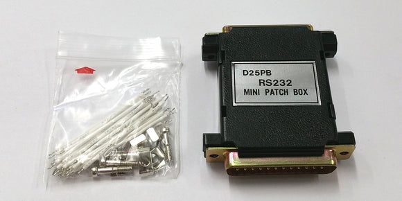 DB25 Male to Female Jumper Patch Box Adapter with Jumper Wires