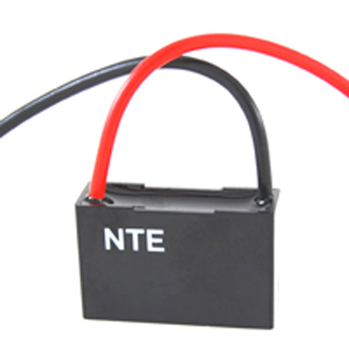 NTE CFC-10, 10uF @ 125/250V AC, Single Ceiling Fan Capacitor