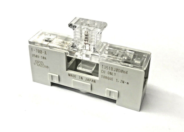 Sato Parts F-700-AL 3AG Fuse Holder, Din Rail or Surface Mount w/Indicator Lamp