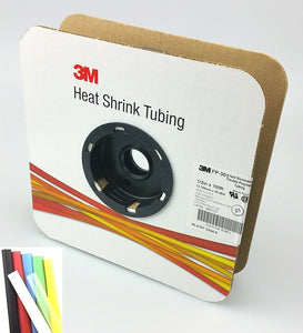 "100 Foot Roll of 1/2"" White 2:1 Heat Shrink ~ 3M FP301"