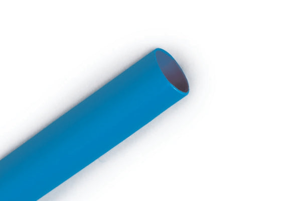 "1/16"" Blue 4' Length of 2:1 Shrink Ratio, 3M FP301 Polyolefin Heat Shrink"