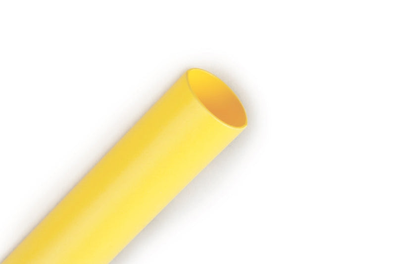 "1"" Yellow 4' Length of 2:1 Shrink Ratio, 3M FP301 Polyolefin Heat Shrink"