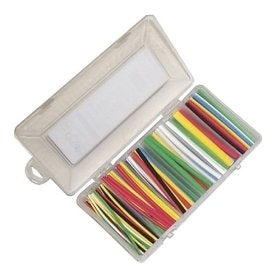 "Thermosleeve # HSTBOX160 160 Piece Assorted Colored, 4"" Length Heat Shrink Kit"