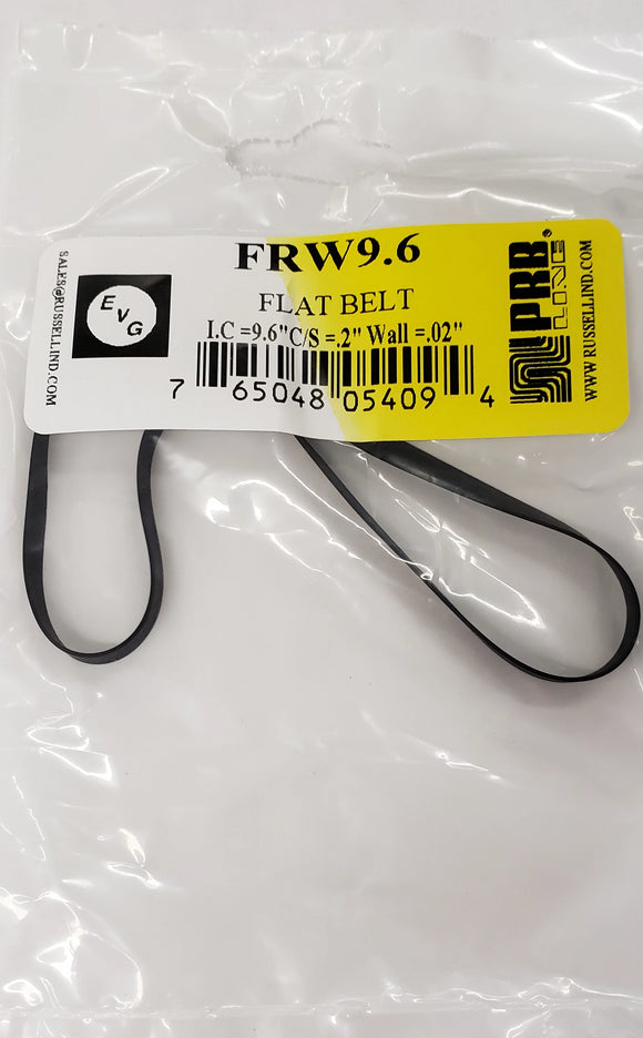 PRB FRW 9.6 Flat Belt for VCR, Cassette, CD Drive or DVD Drive FRW9.6