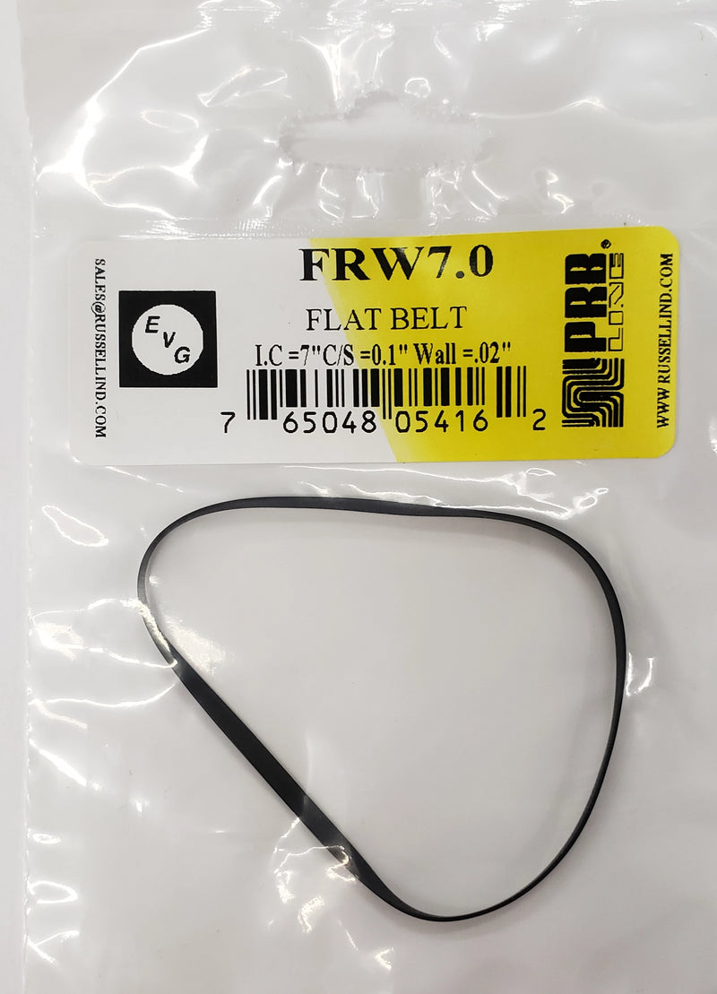 PRB FRW 7.0 Flat Belt for VCR, Cassette, CD Drive or DVD Drive FRW7.0