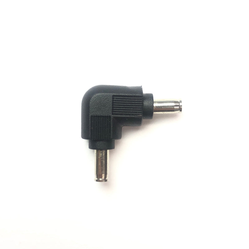 MVELL-90C 1.3x3.5mm Male/Male Right Angle