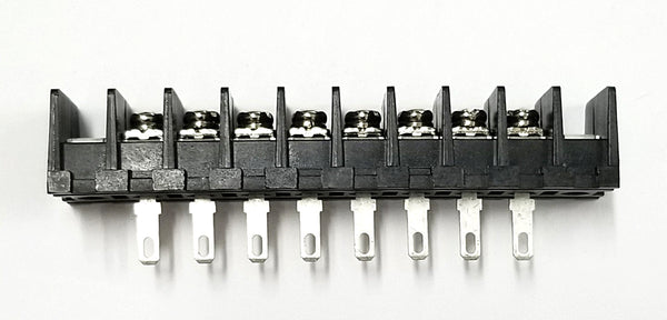 Sato Parts # ML-40-S1AXF-8P 8 Position Feed Through Terminal Block ~ 10A @ 250V