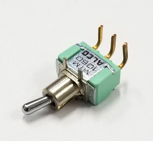 Alco MTM106D-R SPDT ON-ON Right Angle Toggle Switch, Horizontal Action 6A @ 125V